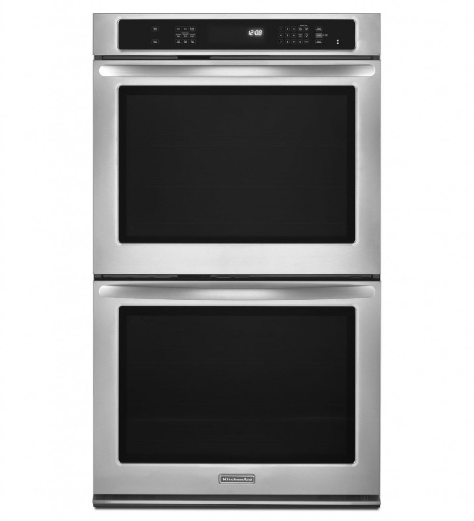 KEBS207BSS U2013 KITCHENAID 30u2033 CONVECTION BUILT IN ARCHITECT SERIES II DOUBLE  OVEN STAINLESS