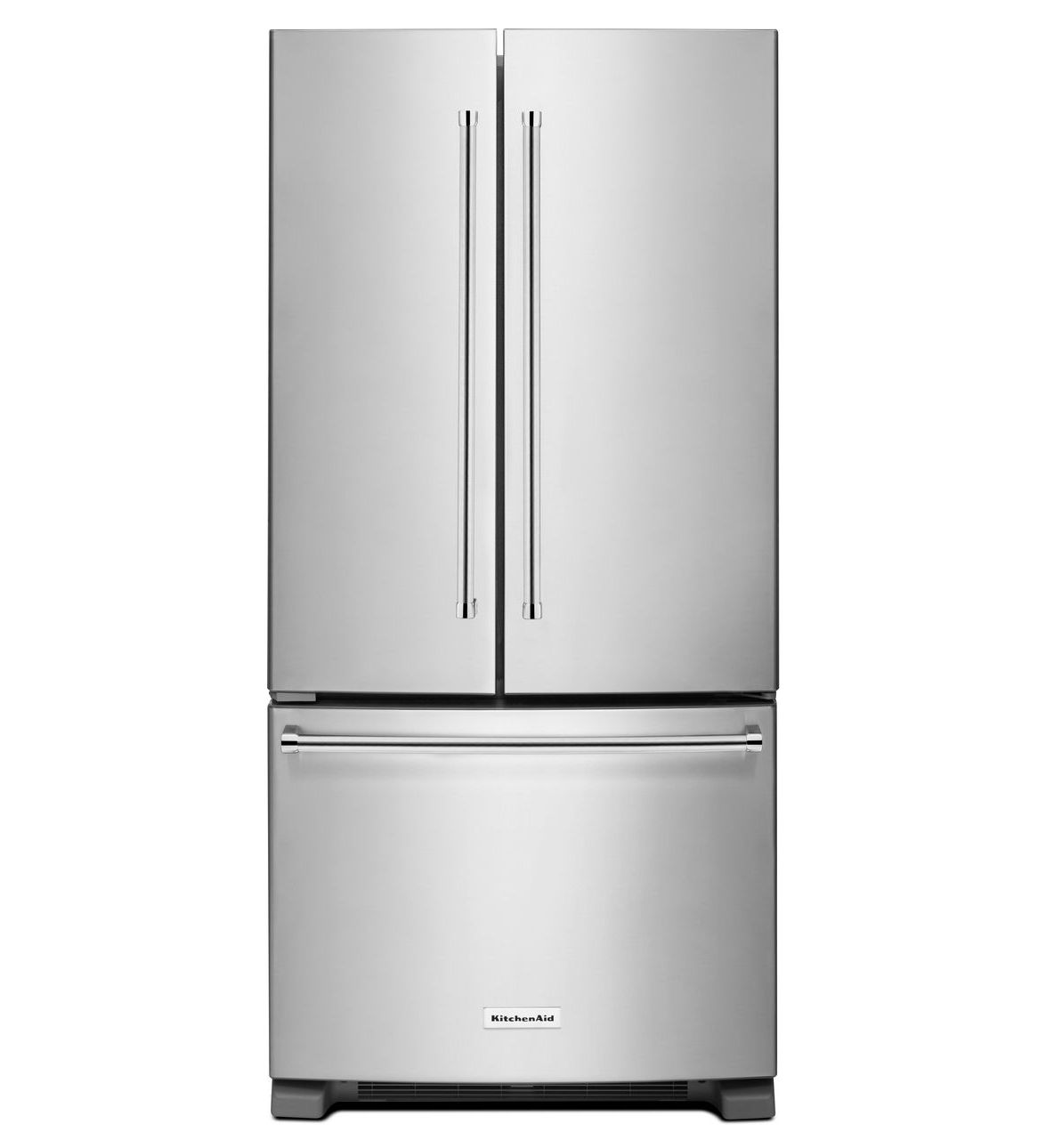 Kitchenaid 22 1 Cu Ft French Door Refrigerator With Ice: KITCHENAID 33″ 22 CU. FT. STANDARD DEPTH FRENCH DOOR REFRIGERATOR WITH INTERIOR