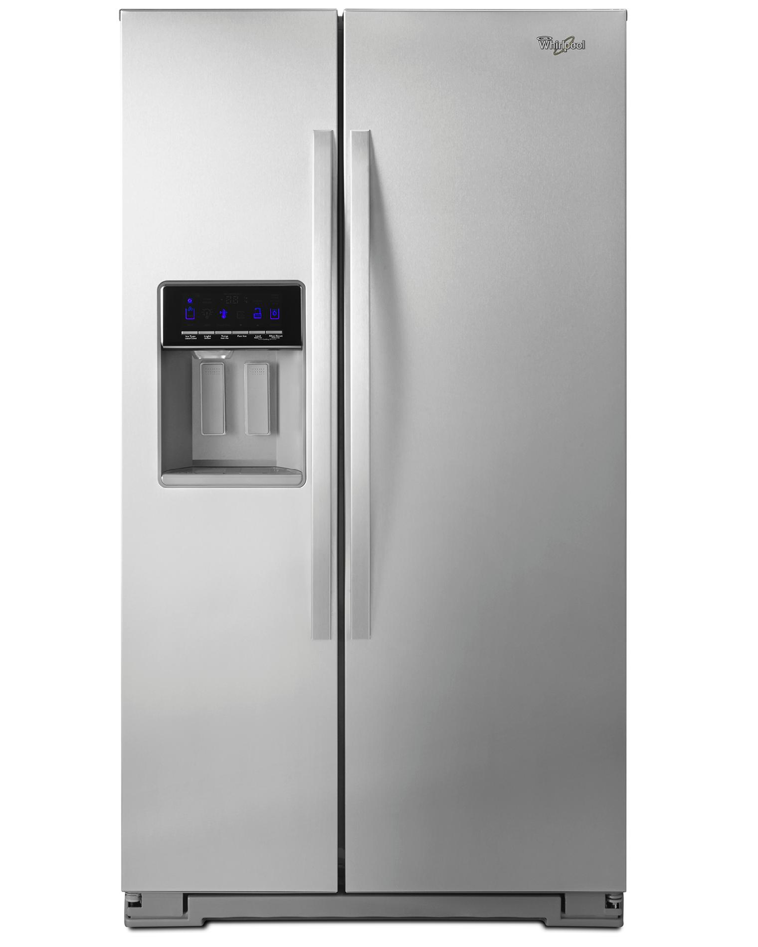 Wrs325sdhz Whirlpool 36 Side By Side Refrigerator Fingerprint