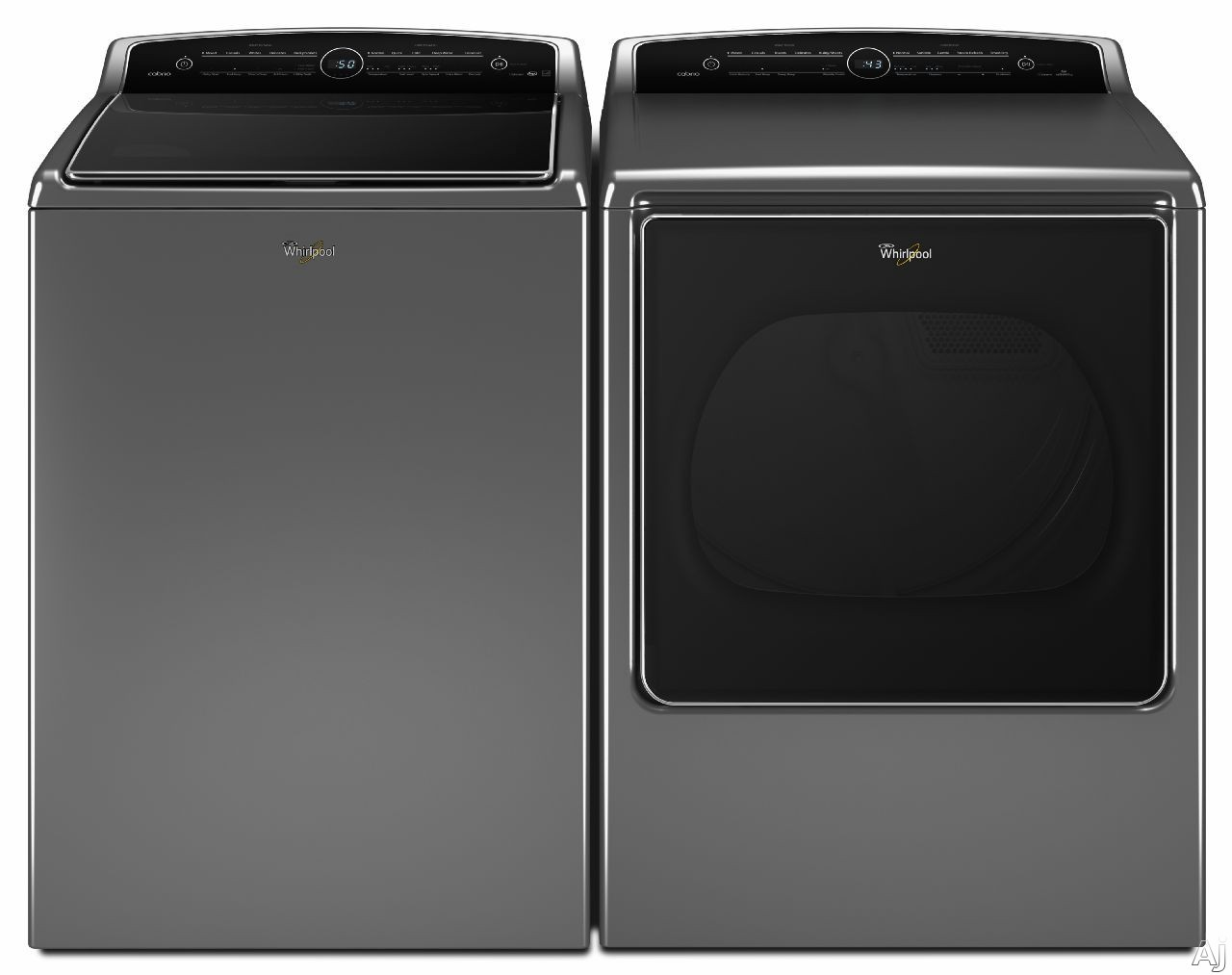 Wtw8500dc Wed8500dc 5 3 Cu Ft Whirlpool Top Load Washer