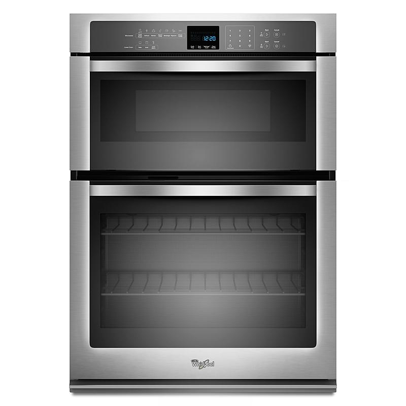 Woc54ec7as Whirlpool 27 Inch Microwave Combination Wall Oven Stainless