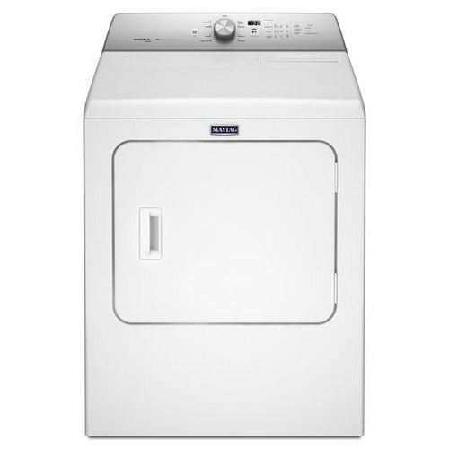 Medb766fw Maytag 29 Inch 7 Cu Ft Front Load Electric Dryer White Solo