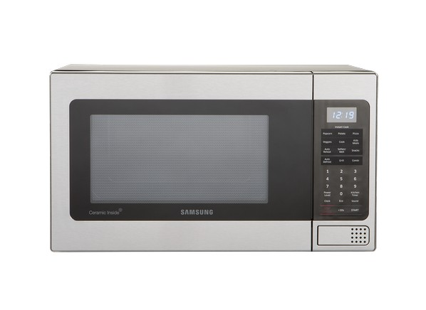 Mg11h2020ct Samsung 1 Cu Ft Countertop Microwave Oven Stainless