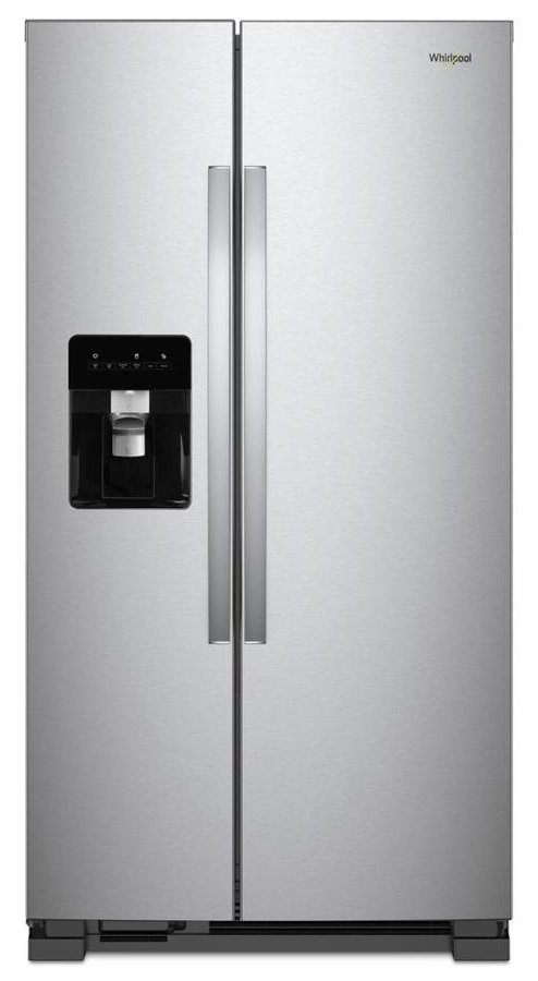 Merveilleux WRS315SDHZ U2013 WHIRLPOOL 36 INCH 25 CU. FT. SIDE BY SIDE REFRIGERATOR  STAINLESS