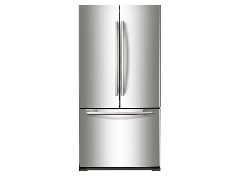 Rf18hfenbsr Samsung 33 Inch Counter Depth French Door Refrigerator Stainless