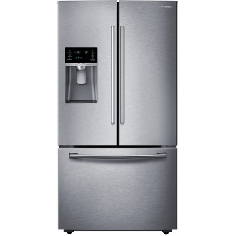 Rf263teaesr Samsung 25 6 Cu Ft French Door Refrigerator Stainless