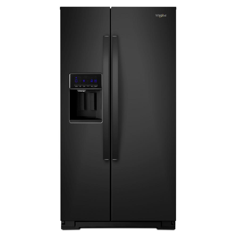 Wrs588fihb Whirlpool 36 Side By Side Refrigerator With